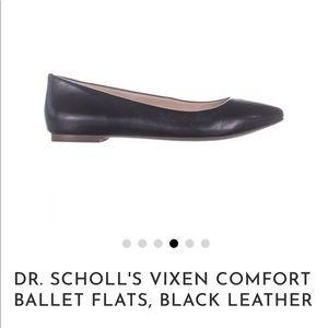 Dr.Schools Vixen Comfort Leather Ballet Flats